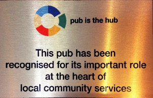 The Pleasure Boat Inn - recognised by Pub is the Hub